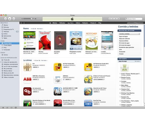 """la app store estrena la categoría """"comida y bebidas"""""""