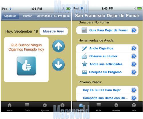 dejar de fumar ipad iphone ipad touch