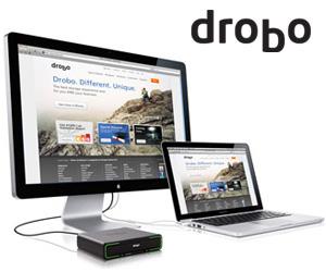 drobo anuncia las unidades hdd/ssd drobo 5d y drobo mini con conectividad thunderbolt y usb 3.0