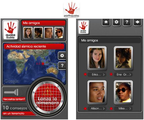 earthquake buddy, una app diseñada para salvar vidas en los terremotos