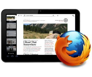 firefox para tablets