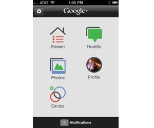 google lanza google + para iphone ios