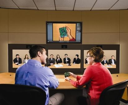 hp, telepresencia, reunión, pc world