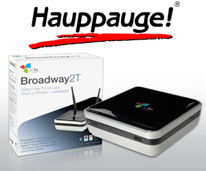 broadway 2t transmite tv de forma inalámbrica a tu iphone, ipad o mac