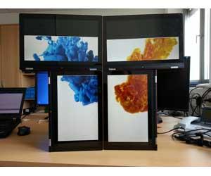 tecnología inalámbrica intel. pantallas