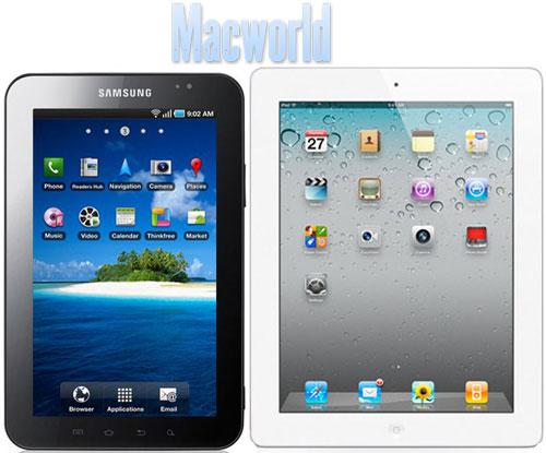 ipad apple galaxy tab samsung