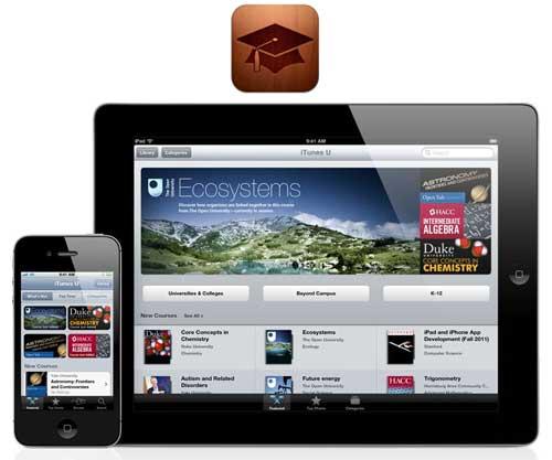apple presenta itunes u su verisón del campus virtual universitario