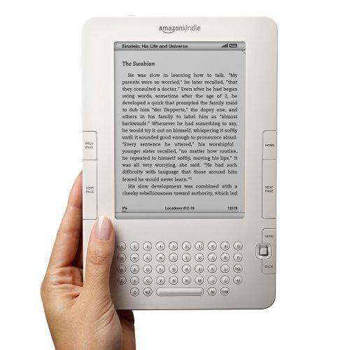 kindle 2, e-book, libro electrónico, amazon