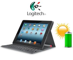 logitech anuncia el teclado solar folio para ipad