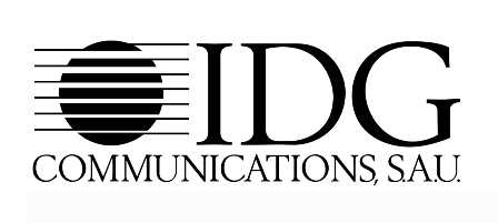 logotipo idg communications sau