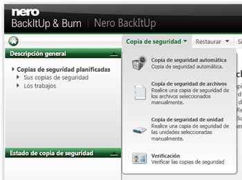 nero backitup & burn