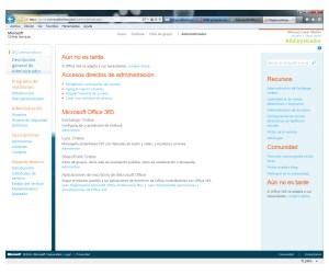 portal de acceso para administrar a los usuarios