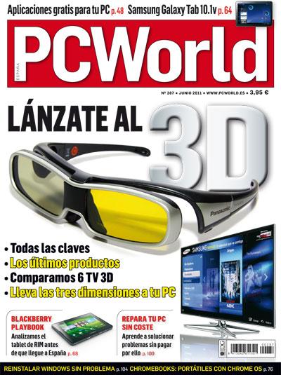portada pc world españa 287 junio 2011