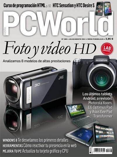 portada pc world 288 foto y video alta definicion