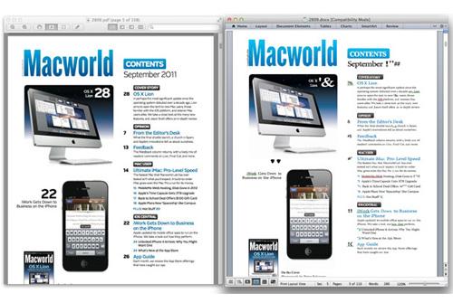 convierte archivos pdf a varios formatos con pdf to word for mac