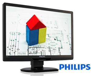 philips presenta un nuevo monitor lcd con conectividad usb
