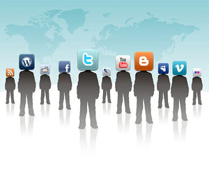 redes sociales buenas trabajo riesgos