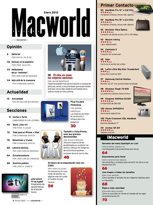 sumaria macworld enero 2012