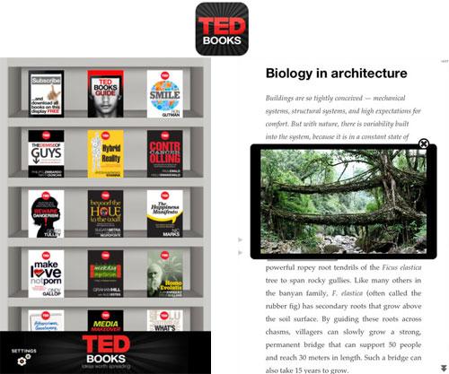la nueva app ted books lleva las lecturas populares a la plataforma ios