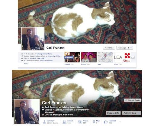 facebook prueba un nuevo diseño del timeline en los perfiles