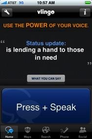 vlingo para iphone