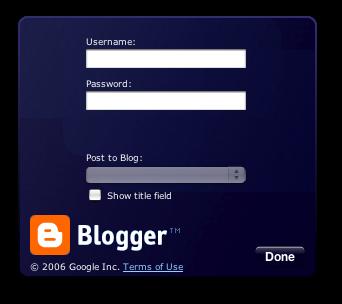 blogger cuenta acceso