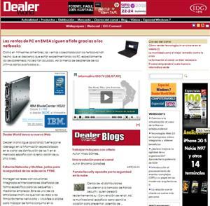 nueva web de dealer world