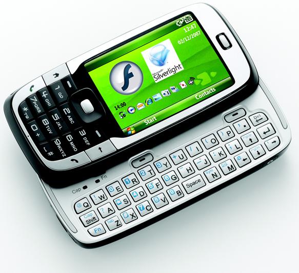 teléfono móvil con windows mobile