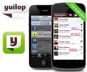 llama y manda sms gratis con la app yuilop para ios